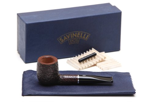 Savinelli Pocket Brownblast 106 Tobacco Pipe