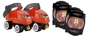 Disney Cars Skate Combo, Size J6-J9 by Bravo Sports