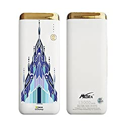 Hamee MORA x Disney Princess Frozen Licensed Power Bank With LED Torch (13000 mAh) (Elsa / Palace)