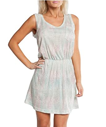 G2 Chic Women's Mint Sleeveless Ethnic Print Dress(DRS-CAS,LGN-XS)
