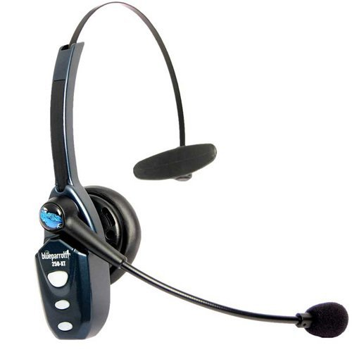 Vxi B250-Xt Blue Parrot Roadwarrior Bluetooth Headset W/ Home & Car Charger. My Gn
