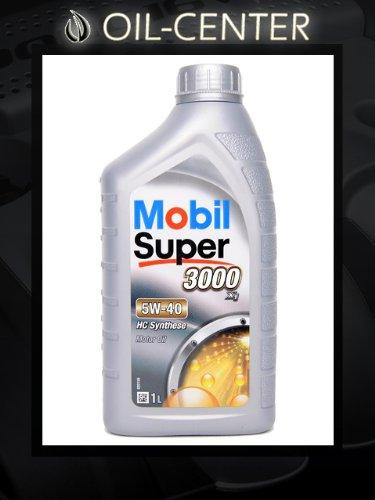 Mobil 5W-40 Super 3000 X1 - 1 Liter 5W40 Motoröl