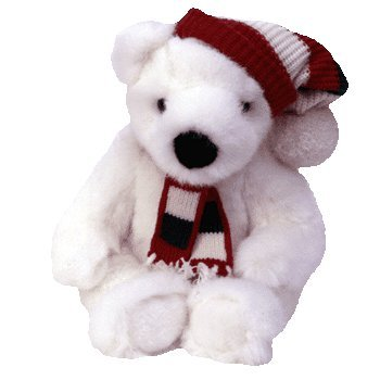 Ty Beanie Buddies Holiday Bear Style 5700 - 1