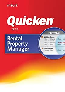 Quicken Rental Property Manager 2013 [Download] [OLD VERSION]