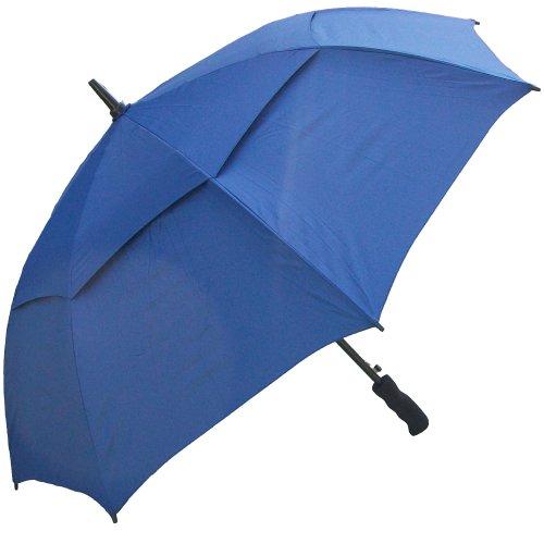 RainStoppers Auto Open Windbuster Sport Umbrella, Navy, 48-Inch (Rain Umbrella Wind Resistant compare prices)