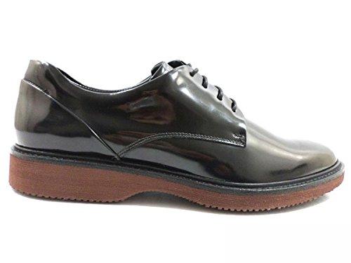 scarpe uomo HOGAN 39 EU stivaletti sneakers alto nero pelle AZ937