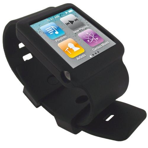igadgitz-housse-etui-pochette-coque-case-en-silicone-de-couleur-noir-avec-bracelet-pour-apple-ipod-n