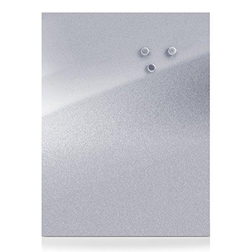 zeller-11119-60-x-80-cm-stainless-steel-magnetic-board
