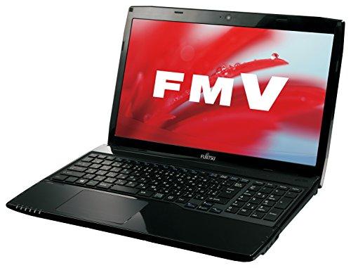 富士通 FMV LIFEBOOK AHシリーズ WA1/S(15.6型ワイド/Core i7/8GBメモリ/約1TB HDD/Office Home and Business Premium/シャイニーブラック)FMVWSA1B_Z503