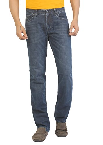 Aliep Aliep Grey 100% Cotton Regular Fit Jeans For Men | ALPJS26 (Multicolor)