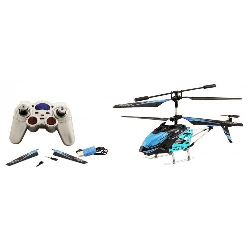 Electric S929 Infrared Metal 3.5 CH Gyro LED RTF RC Helicopter Remote Control