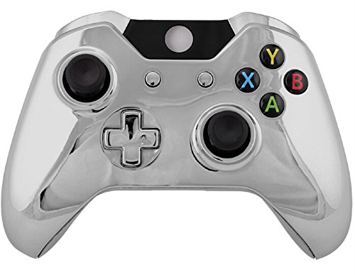 crowntrader-controller-chrome-shell-mod-kit-matching-buttons-set-controller-mod-kit-housing-shell-ca