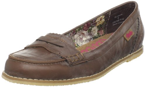 Rebels Women's Genetic Loafer,Brown,6 M US