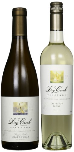 Dry Creek Vineyard White Wines Mixed Pack, 2 X 750 Ml