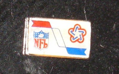 1976 Super Bowl X Press Pin Cowboys Versus Steelers at Amazon.com