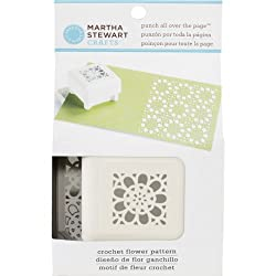 Martha Stewart Crafts Crochet Flower Punch all Over the Page
