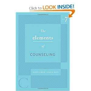 elements of counseling The elements of counseling (hse 125 counseling) by meier, scott t, davis, susan r and a great selection of similar used, new and collectible books available now at abebookscom.