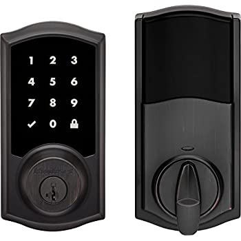 Kwikset Premis Touchscreen Smart Lock, Works with Apple HomeKit , in Venetian Bronze