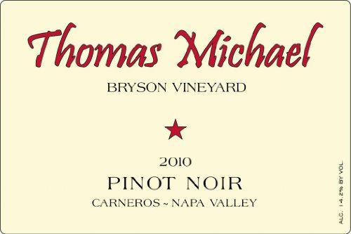 2010 Thomas Michael Pinot Noir Napa Valley Bryson Vineyard 750 Ml