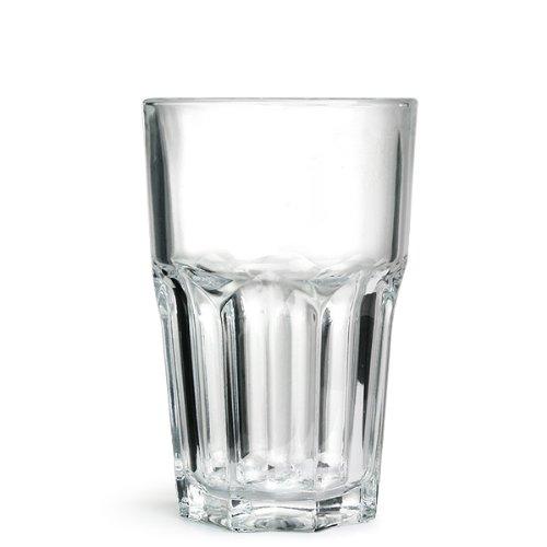 Arcoroc Classic rocks glass tumblers 280ml (10oz/280ml), Set of 6.
