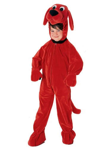 Kid's Clifford the Big Red Dog Costume