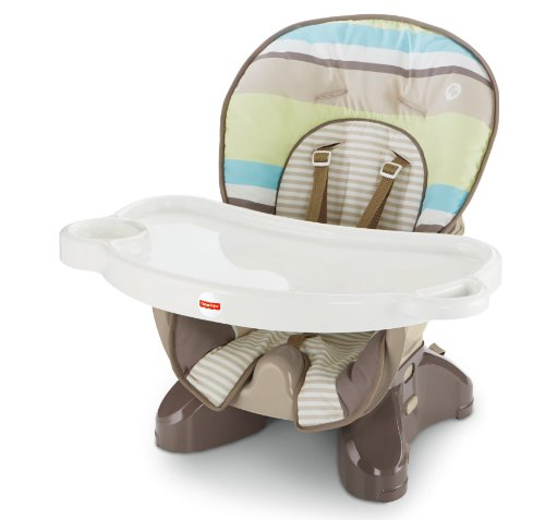 New Fisher-Price Spacesaver High Chair, Stripes