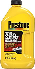Prestone AS105-6PK Radiator Flush and Cleaner - 22 oz., (Pack of 6)