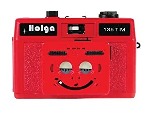 Holga 207120 135Tim Plastic Camera (Red)