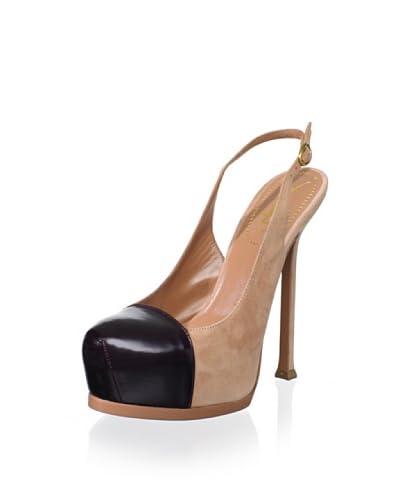 Yves Saint Laurent Women's Tribtoo Mixed Material Slingback