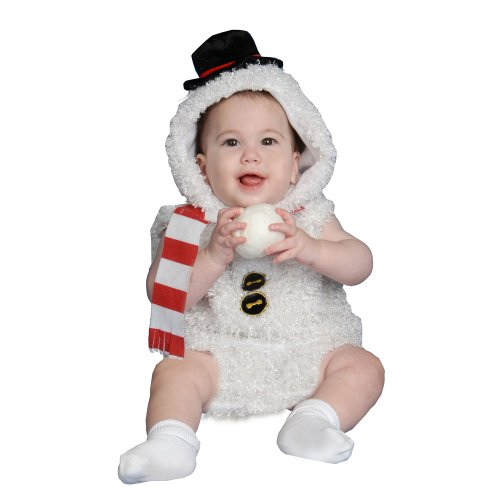 Dress Up America Baby Snow Man