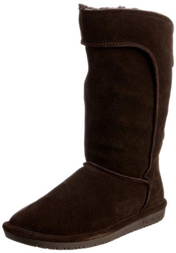 Bearpaw Women's Hayden Chocolate Fur Trimmed Boot 1350W 8 UK