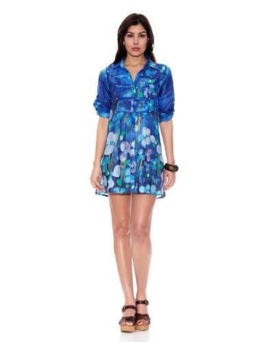 HHG Vestido Gwen Azul