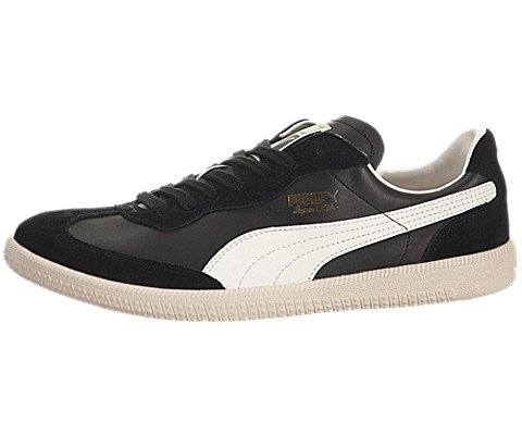 sports shoes b3e02 23c22 pictures of PUMA SUPER LIGA OG RETRO BLACK MARSHMALLOW MENS FASHION SNEAKER  Size 10.5M