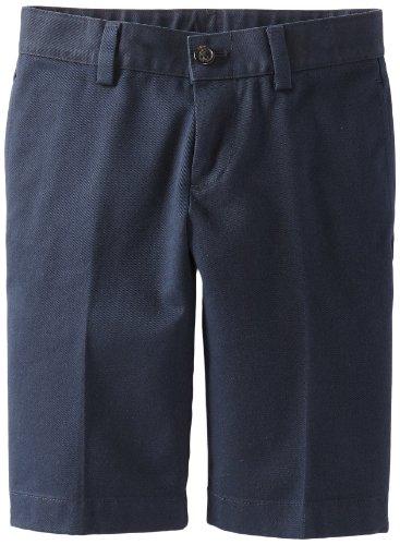 Brooks Brothers Little Boys' Uniform Advantage Chino Short, Blue, 6