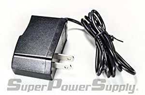 Super Power Supply® AC / DC Adapter Charger Cord For AD-1 AD1 AD-1 AD1U AD-1U AD1UL AD-1UL Series compatible with: Casio SA6 SA-6 SA39 SA-39 SA45 SA-45 SA65 SA-65 SA67 SA-67 SA75 SA-75 Replacement Keyboard Wall Plug