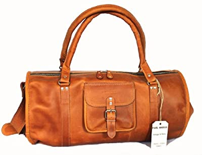 Traveller Vintage Leather Bag Shoulder Bag Unisex PAUL MARIUS Vintage & retro