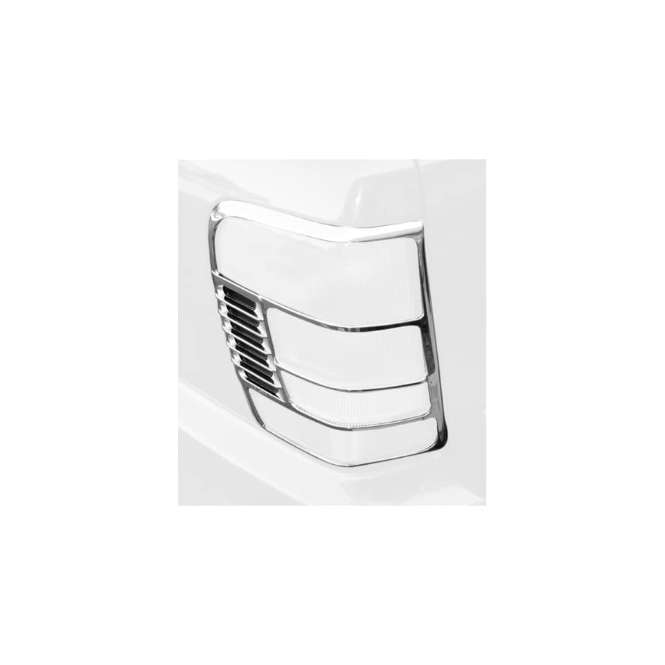 Rugged Ridge 13310.11 Chrome Tail Light Trim Cover for Jeep Grand Cherokee 1994 2004   Pair
