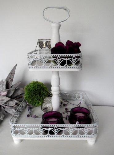 vintage etagere holz 2016 vintage101. Black Bedroom Furniture Sets. Home Design Ideas