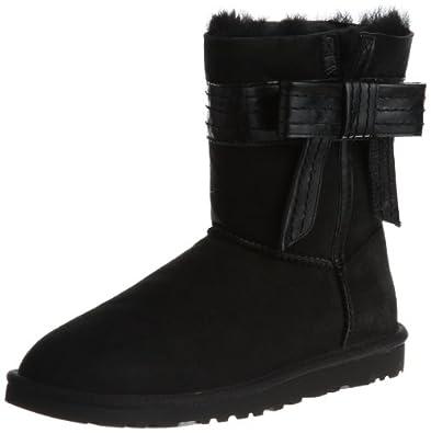 UGG  W Josette Boots Womens  Black Schwarz (BLACK) Size: 8 (42 EU)