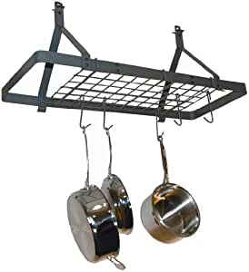 Amazon Com Rack It Up Rectangle Ceiling Pot Rack