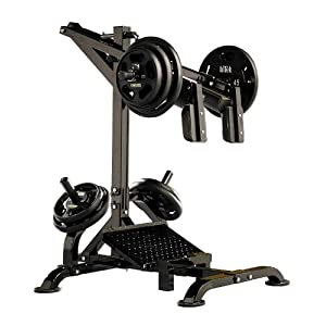 how much weight is the leg press machine