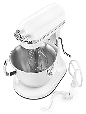 KitchenAid RKSM6573CU 6-Qt. Professional Bowl-Lift Stand Mixer - Contour Silver (Certified Refurbished) by Amazoncom Llc Keep Porules Active