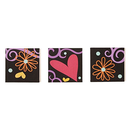 One Grace Place Sassy Shaylee Canvas Art Decor, Black/Pink/Purple