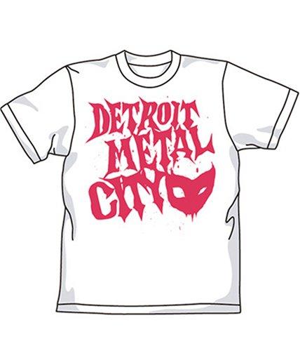 デトロイト・メタル・シティ DMCロゴTシャツ ホワイト サイズ:L