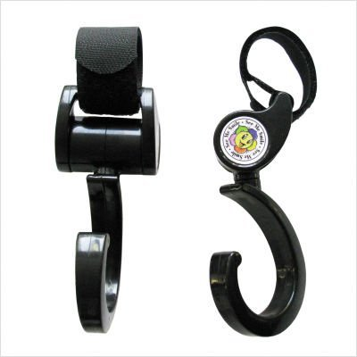 Hook 'n' Stroll Stroller Accessory, Black