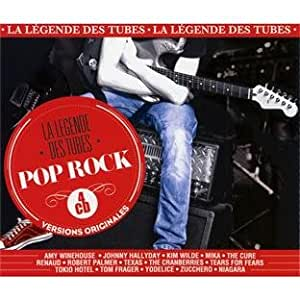 La Légende Des Tubes Pop Rock (4 CD)