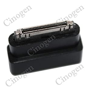 Cosmos Black Dock Extender 30-Pin Converter for iPhone 4, iPod ,iPad 2 + Free Cosmos Cable Tie