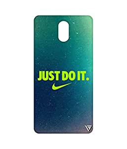 Vogueshell Just Do It Printed Symmetry PRO Series Hard Back Case for Lenovo Vibe P1M