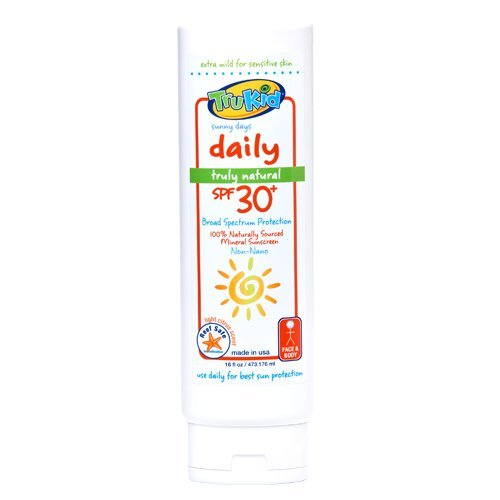 Trukid Sunny Days SPF 30+ Daily Sunscreen: 16 Oz Family Size