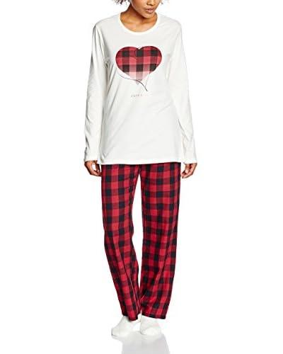ESPRIT Pijama  Rojo NO DATA IN SABLE